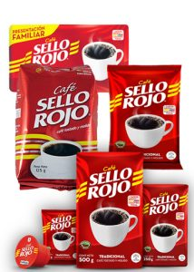 cafe sello rojo